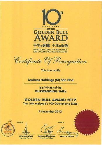 Certificate-Golden-Bull-Award-(2012)